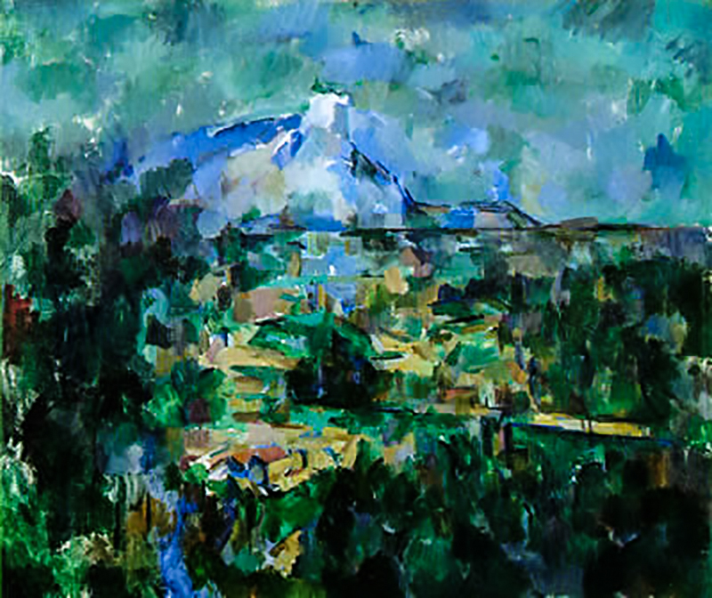 Mont Sainte-Victoire seen from Les Lauves