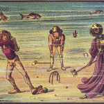 This-artwork-illustrates-safe-family-fun-by-spending-a-Saturday-afternoon-playing-croquet-underwater